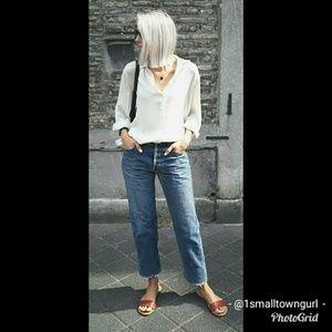 Levi's Boot Cut Jeans 8